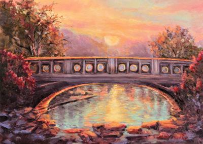 Wanda Mumm-Sunset at Eden Park